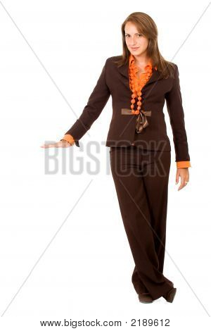 Business Woman Display