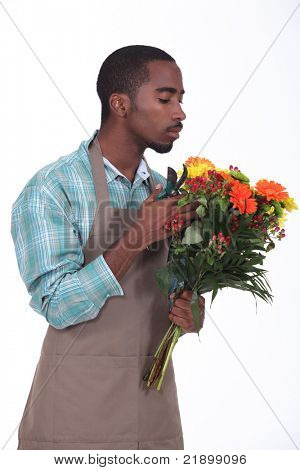 Afro-American flowers retailer