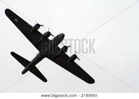 B52 In Silhouette