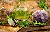 picture of hyssop  - Healing tea from Brahmi  - JPG