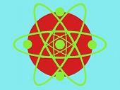 Circle Science Designe poster