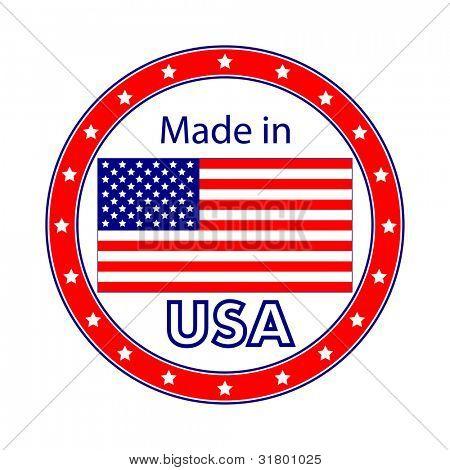 Made in USA Illustration
