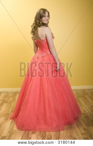 Beautiful Prom Girl
