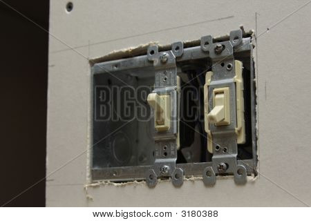 Light Switches During Construction