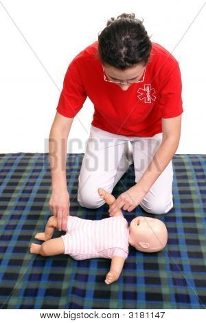 Infant Pulse Check Demonstration