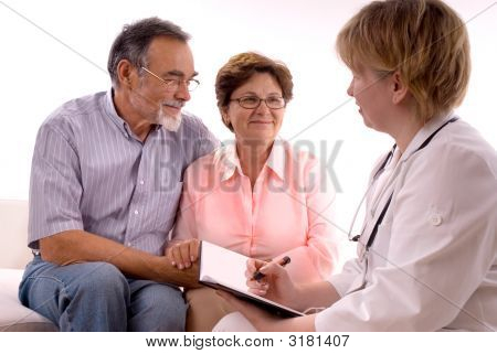 Visiting A Doctor