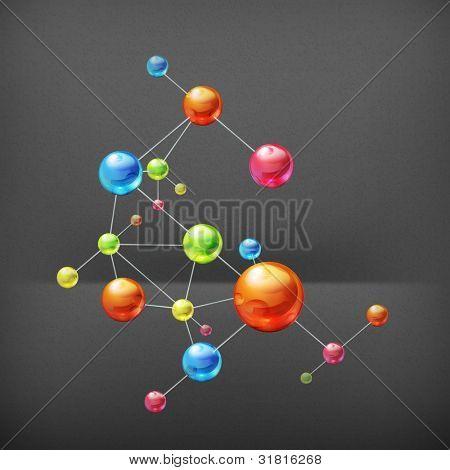 Molekül, Vektor