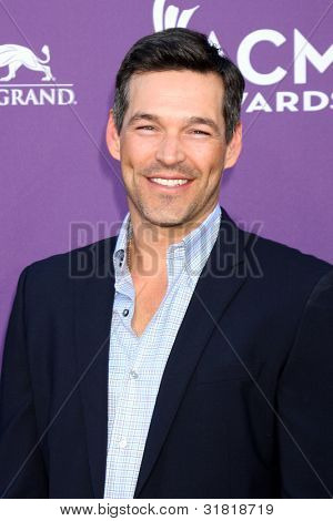 LAS VEGAS - APR 1:  Eddie Cibrian arrives at the 2012 Academy of Country Music Awards at MGM Grand Garden Arena on April 1, 2012 in Las Vegas, NV.