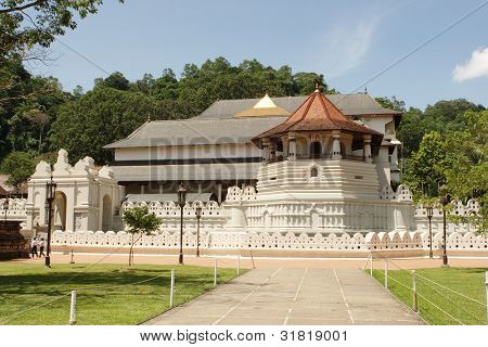 Temple of Tooth of Budda Candy Sri Lanka