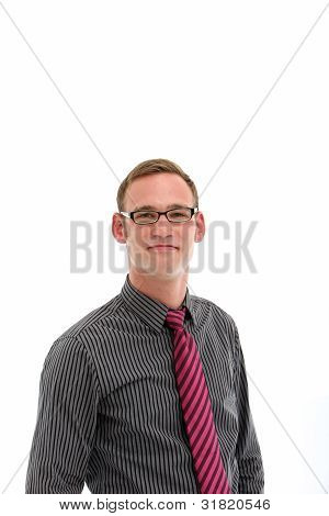 Confident Man With Glasses