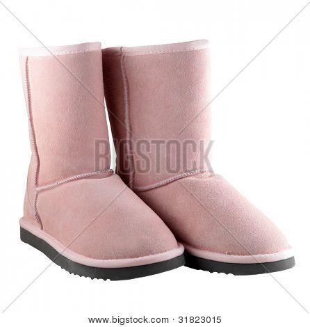 Rosa Ugg weibliche australische Schuhe