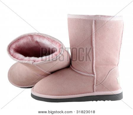 Pink Ugg - female Australian shoes