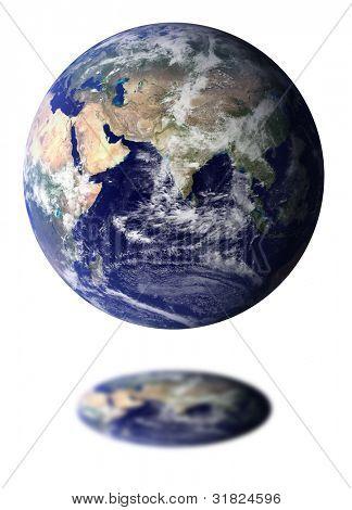 Globe (World map courtesy of NASA)