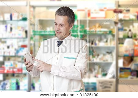 portrait of pharmacist