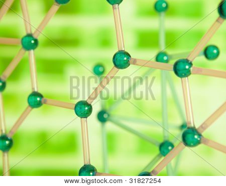 Green Molecular structure