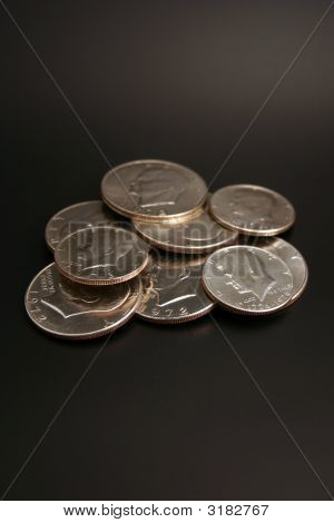 Silver Dollars And Half Dollars