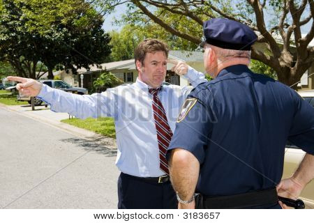 Sobriety Test - Failure