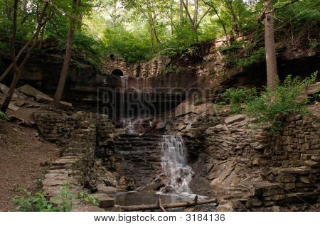 Hidden Falls In St. Paul