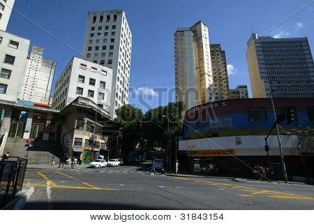 BELO HORIZONTE, BRAZIL - JULY 24:  A street is shown July 24, 2005 in Belo Horizonte, Brazil.
