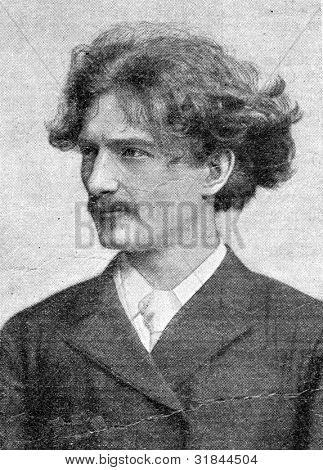 Virtuoso pianist Paderewski Ignatius. Published in magazine