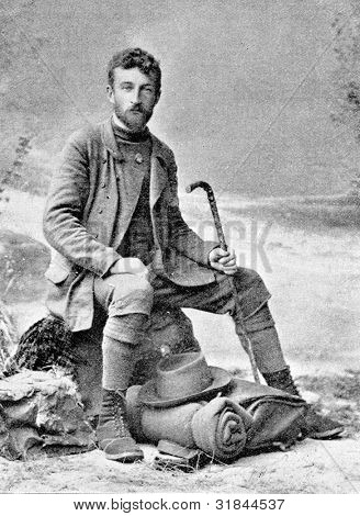 Constantine Rengarten - a traveler and a journalist. Published in magazine