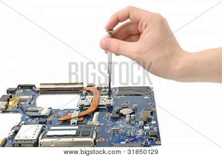 Repair of a computer