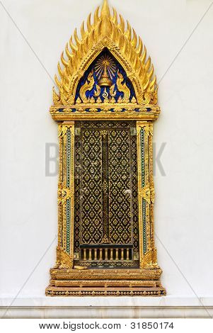 Thai style windows