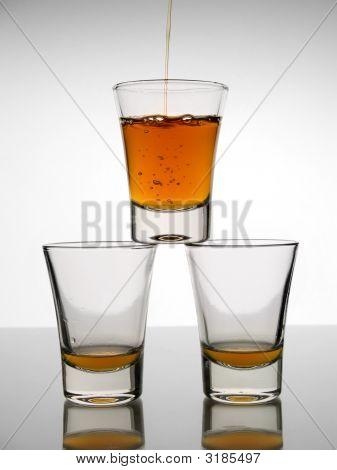 Three Shots Of Whisky
