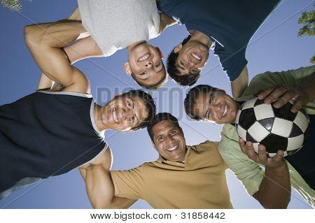 Equipo de fútbol recreativo