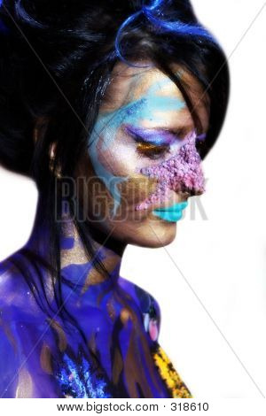 Bodyart Portrait