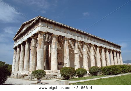 Temple To Hephaestus In Athens