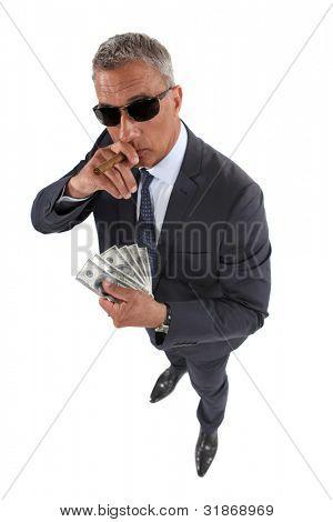 Portrait of a crook
