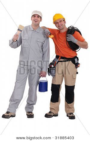 Friendly tradesmen