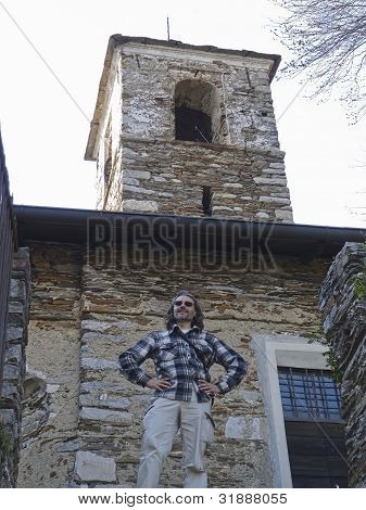 Man Under The Tower