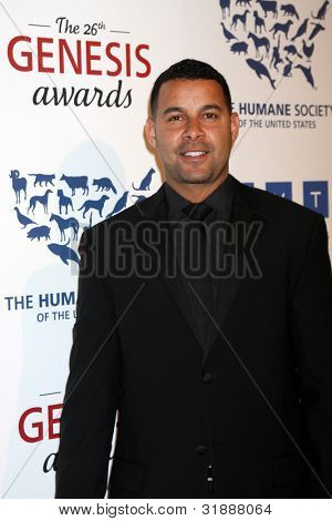 LOS ANGELES - MAR 24:  Jon Huertas arrives at  the 2012 Genesis Awards at the Beverly Hilton Hotel on March 24, 2012 in Beverly Hills, CA