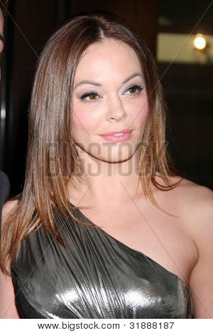 LOS ANGELES - MAR 24:  Rose McGowan arrives at  the 2012 Genesis Awards at the Beverly Hilton Hotel on March 24, 2012 in Beverly Hills, CA