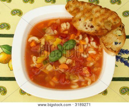 Minetrone Soup