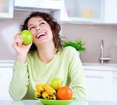 stock photo of healthy food  - Dieting concept - JPG