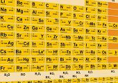 pic of palladium  - Vector Periodic table - JPG