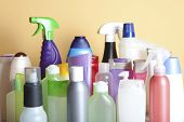 picture of cleaning agents  - Cleaning Product Housework - JPG