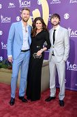 LAS VEGAS - APR 1:  Lady Antebellum arrives at the 2012 Academy of Country Music Awards at MGM Grand