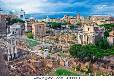 Oude Forum In Rome