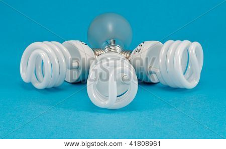New Fluorescent Light Incandescent Heat Bulb