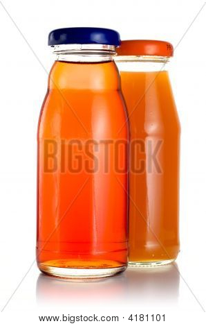 Two Bottles Of Juice