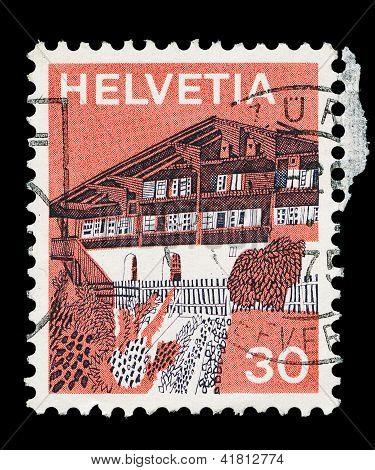 Swiss Post Stamp