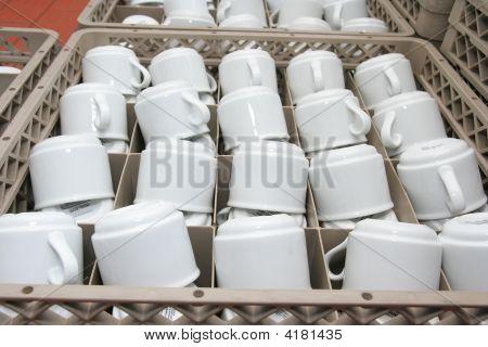Artículos de vidrio para el abastecimiento de la industria o el banquete