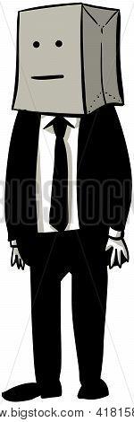 Bagged Businessman