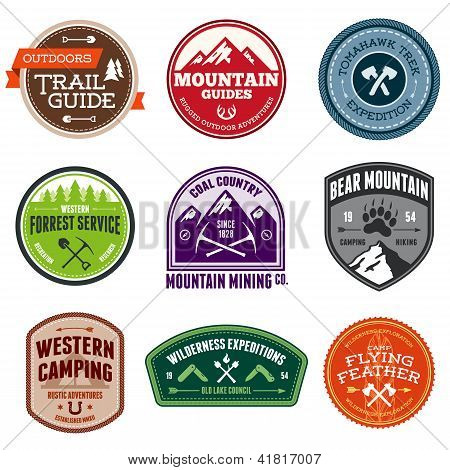 Outdoor Badges