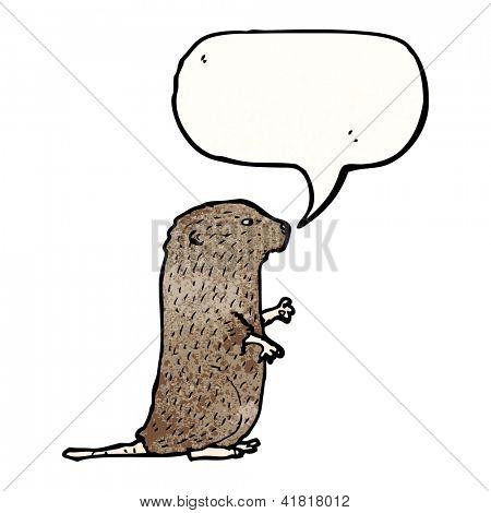 ratón de dibujos animados