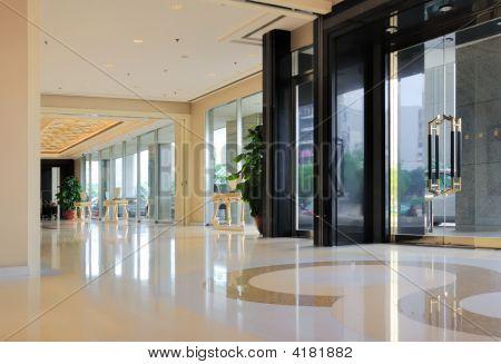 Hallway Of Hotel